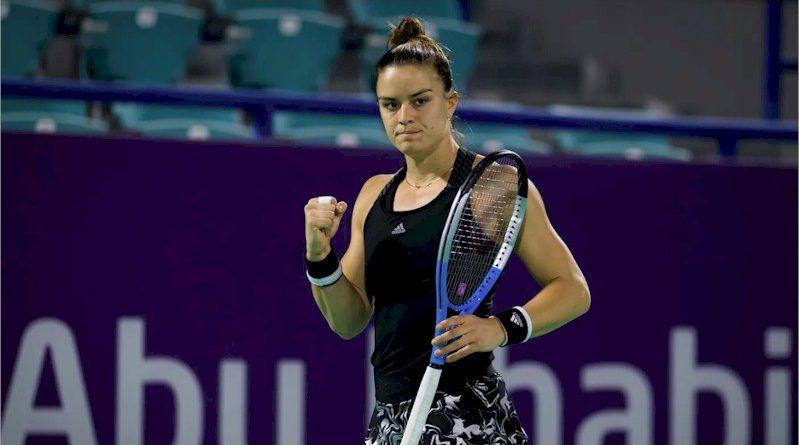 Maria Sakkari (divulgação WTA Tennis)