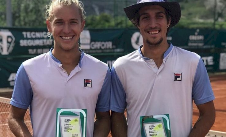 Rafael Matos (esquerda) e Felipe Meligeni (reprodução Instagram)