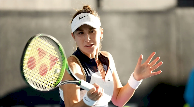 Belinda Bencic (divulgação WTA Tennis)