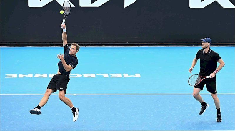Bruno Soares e Jamie Murray (divulgação ATP Tour)