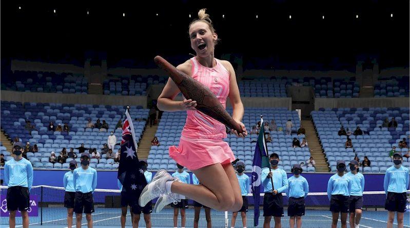 Elise Mertens (divulgação WTA Tenis)