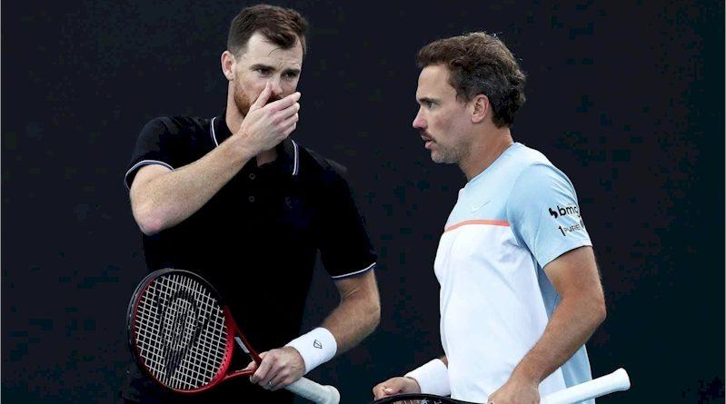 Jamie Murray (esquerda e Bruno Soares (divulgação ATP Tour)