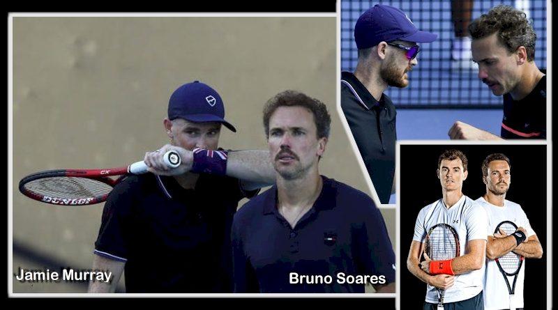 Bruno Soares e Jamie Murray (reprodução Instagram)
