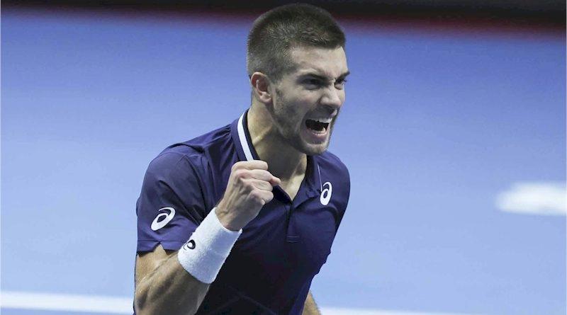 Borna Coric (divulgação ATP Tour)