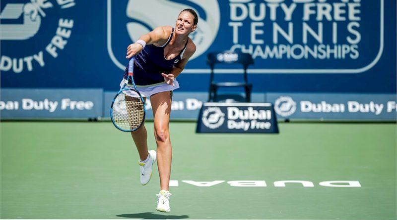 Karolina Pliskova (divulgação Dubai Duty Free Tennis Championships)