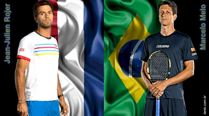Jean-Julien Rojer (esq) e Marcelo Melo (arte: tenis.com.br)
