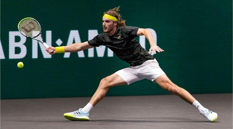Stefanos Tsitsipas (divulgação ATP Tour)