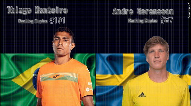 Thiago Monteiro e Andre Goransson (montagem tenis.com.br)
