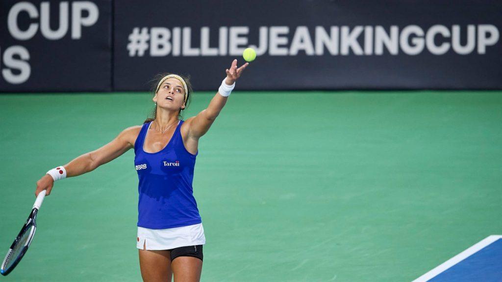 Carolina Meligeni Alves (divulgação Billie Jean King Cup)