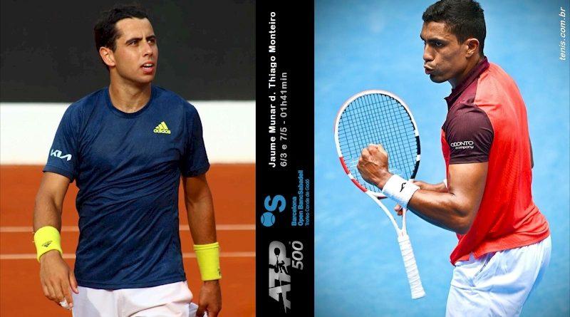 Jaume Munar (esq) e Thiago Monteiro (reprodução Instagram/montage: tenis.com.br)