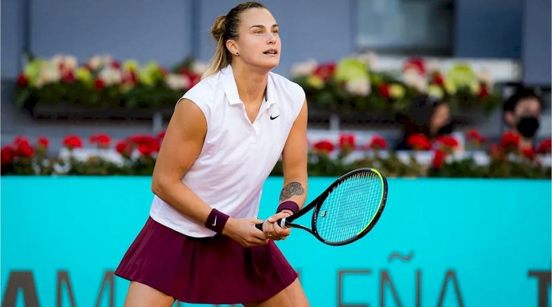 Aryna Sabalenka (divulgação WTA Tennis)