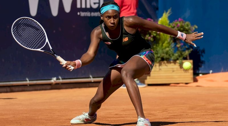 Cori Gauff (divulgação WTA Tennis)