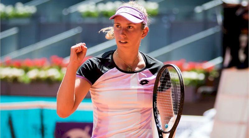Elise Mertens (divulgação WTA Tennis)