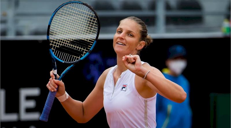 Karolina Pliskova (divulgaçlão WTA Tennis)