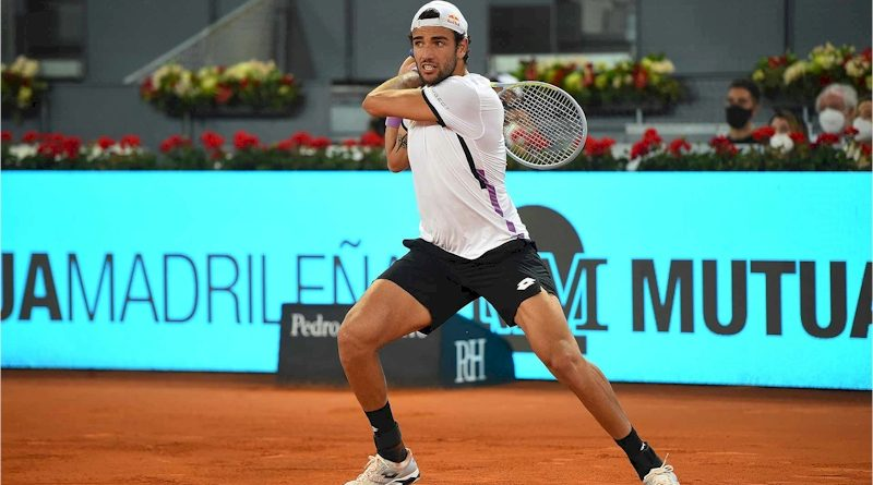Matteo Berrettini (divulgação ATP Tour)