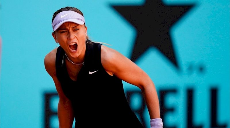Paula Badosa (divulgação Mutua Madrid Open)