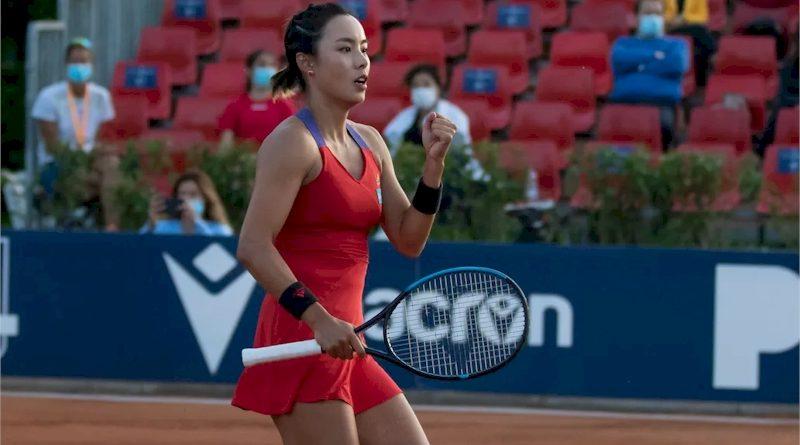 Qiang Wang (divulgação WTA Tennis)