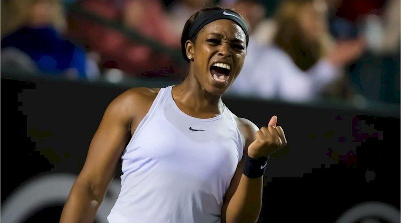 Sloane Stephens (divulgação WTA Tennis)