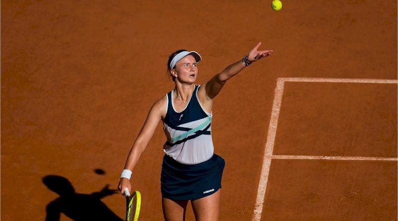 Barbora Krejcikova (divulgação WTA Tennis)