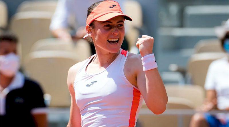 Tamara Zidansek (divulgação WTA Tennis)