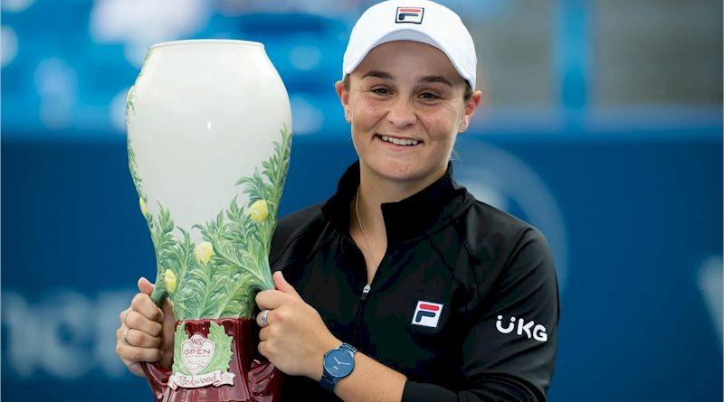 Ashleigh Barty (divulgação WTA Tennis)
