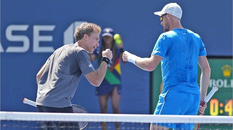 Bruno Soares (esq) e Jamie Murray (divulgação ATP Tour)