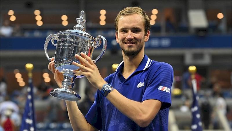 Daniil Medvedev (divulgação US Open)