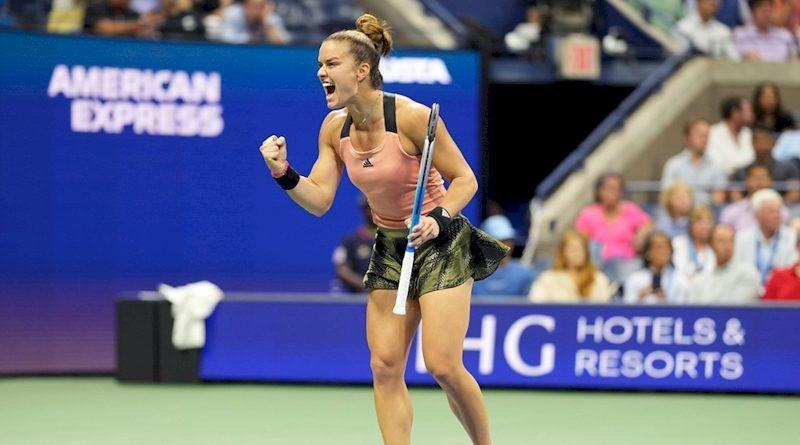 Maria Sakkari (divulgação US Open)